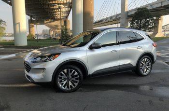 Premier Essai Routier Du Ford Escape 2020 : Remonter La