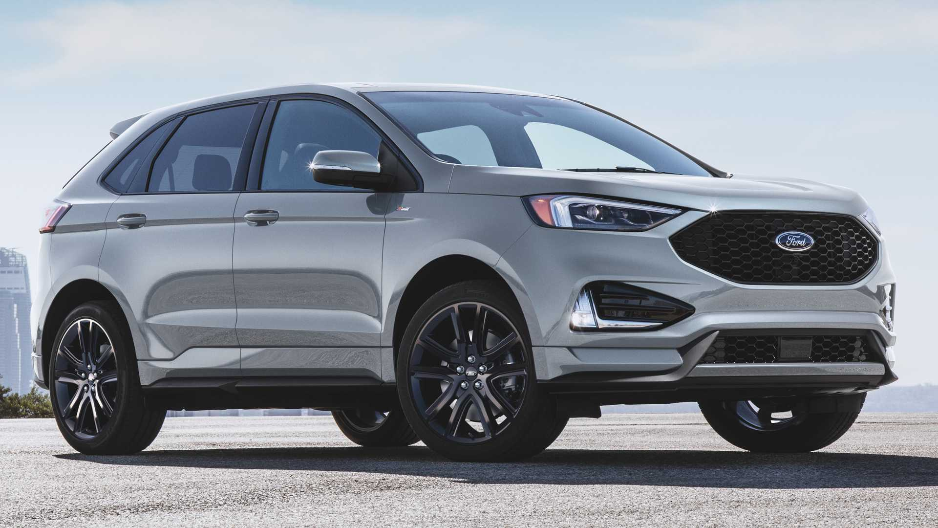 2020 Ford Edge St-Line Offers Sporty Looks With Standard Engine