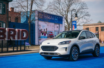 2020 Ford Escape Hybrid Gas-Electric Suv And Plug-In - Specs