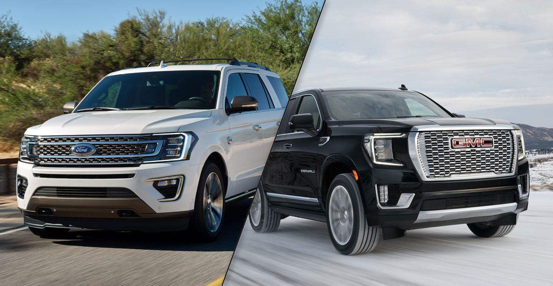 2020 Ford Expedition Vs 2021 Gmc Yukon Spec Comparison