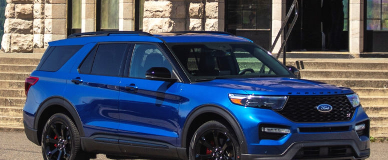 2020 Ford Explorer Has Easter Eggs In Drive Mode Interface