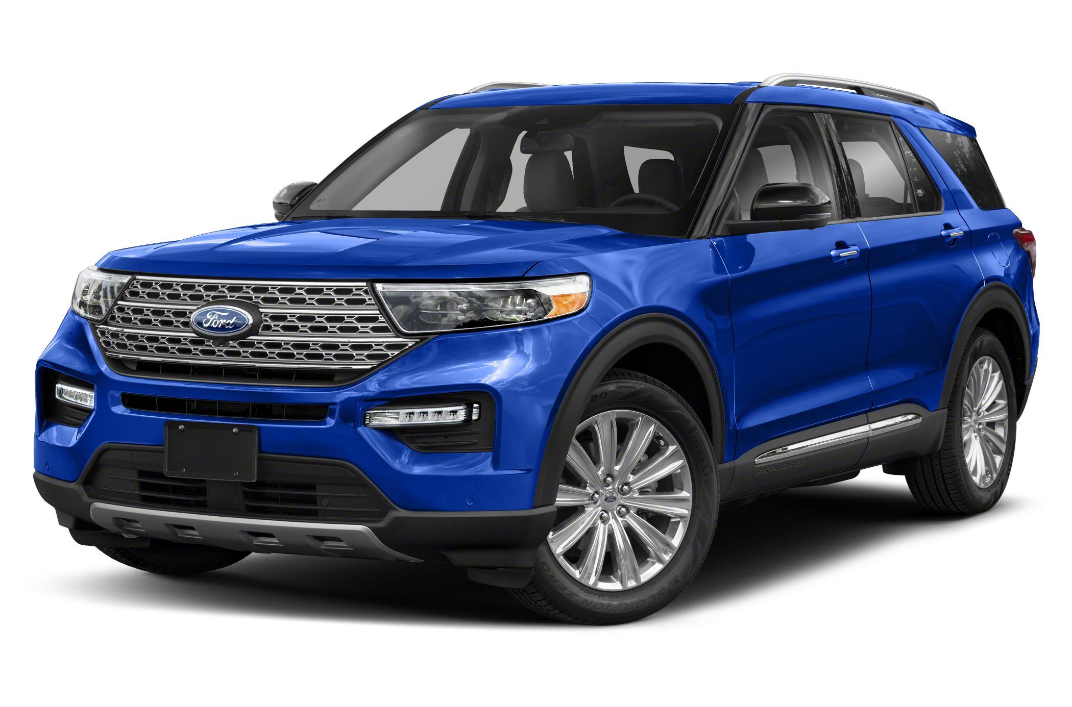 2020 Ford Explorer New Car Test Drive