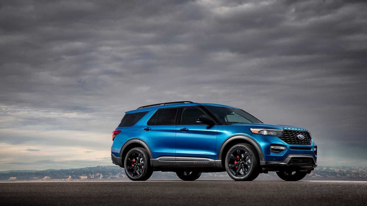 2020 Ford Explorer St Is A 400-Horsepower Crossover [Update