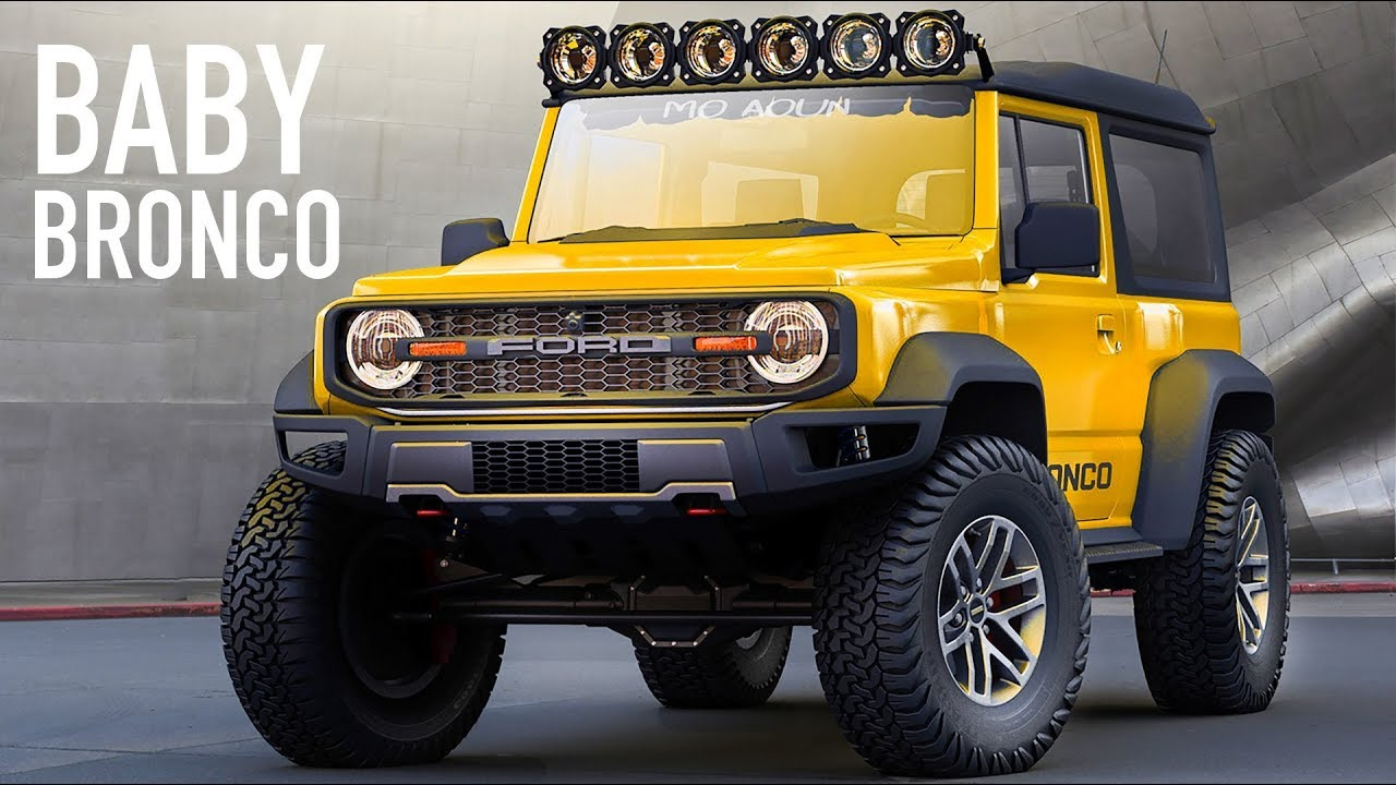 2021 Ford 'baby' Bronco Scout - Everything We Know So Far About The New  Small Bronco Suv!