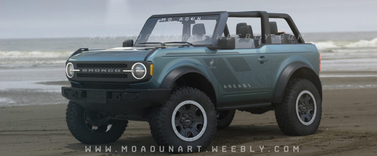 2021 Ford Bronco 7-Speed Manual With Crawler Gear, 2.3-Liter
