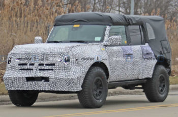 2021 Ford Bronco Coming With Twin-Turbo 2.7-Liter Ecoboost