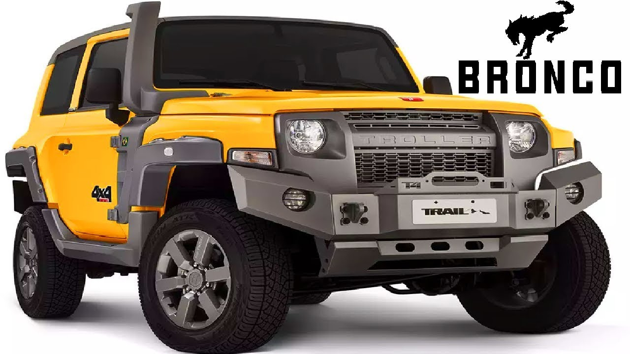 2021 Ford Bronco = Ford Troller T4 + Ford Everest (Design, Off-Road, Engine  Hp, Reveal)