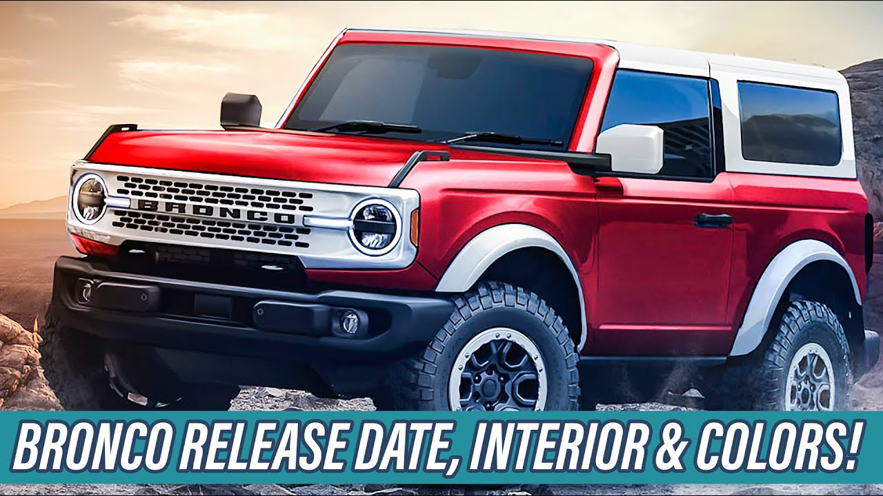 2021 Ford Bronco Off-Road Testing, 7-Speed Manual, Reveal Date, Interior &  Colors!