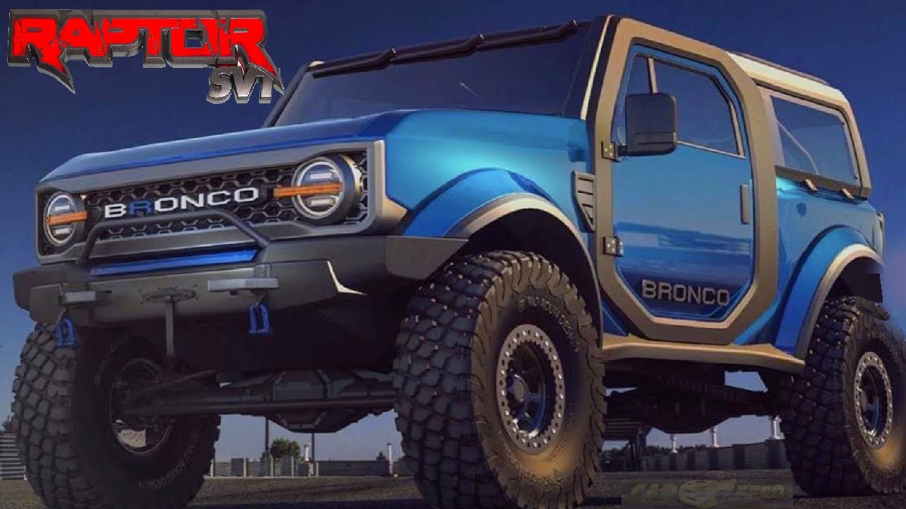 "2021 Ford Bronco ""raptor"" - Everything We Know (Design, Engine, Price,  Trims)"