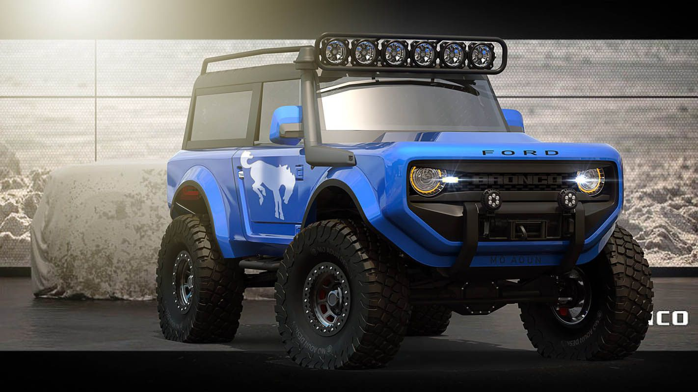 2021 Ford Bronco Will Get A Hybrid Powertrain Option, Too