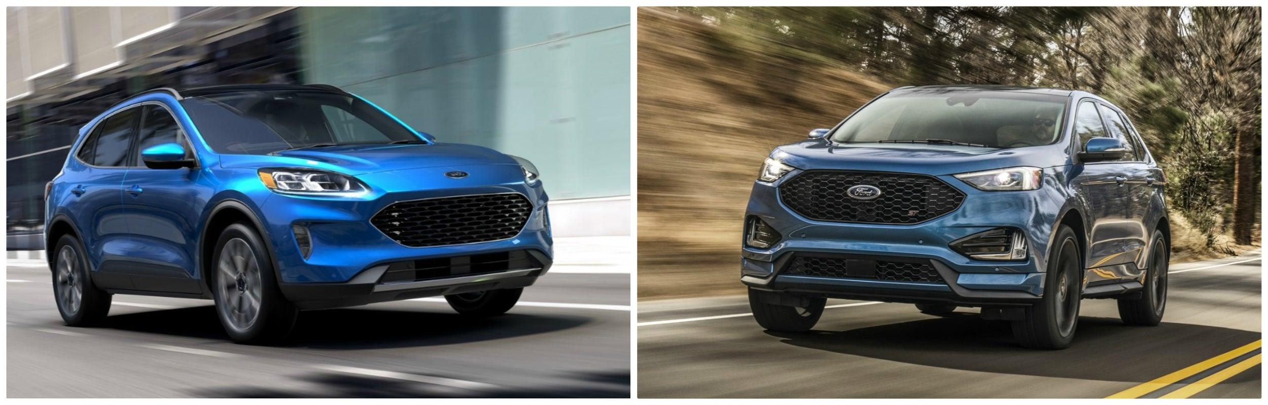 2021 Ford Escape Vs. 2021 Ford Edge
