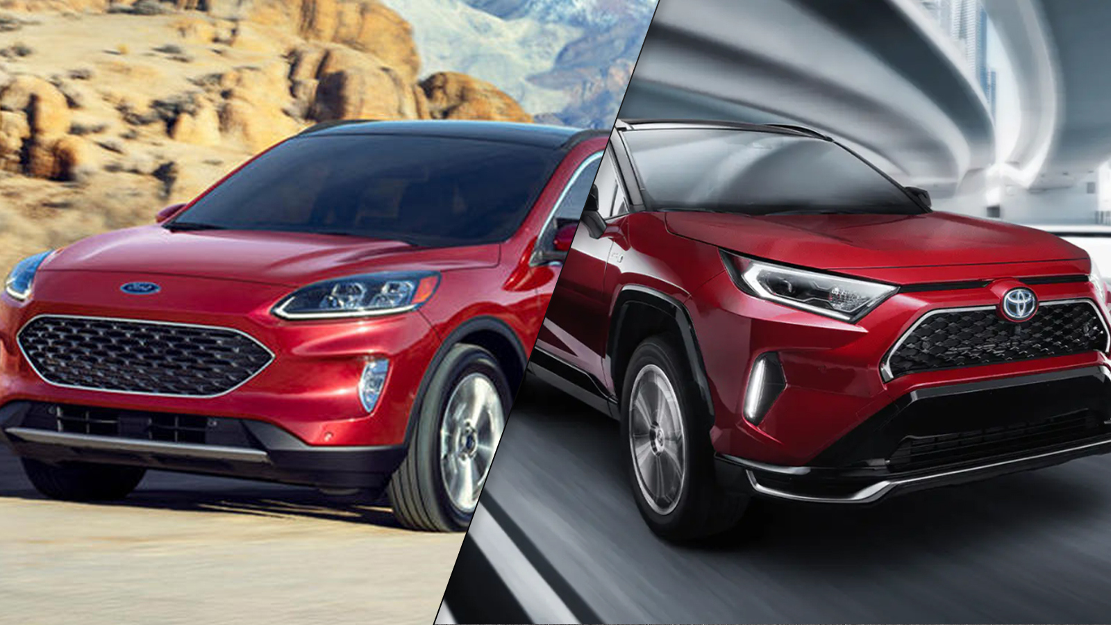 2021 Toyota Rav4 Prime Vs 2020 Ford Escape Phev Spec