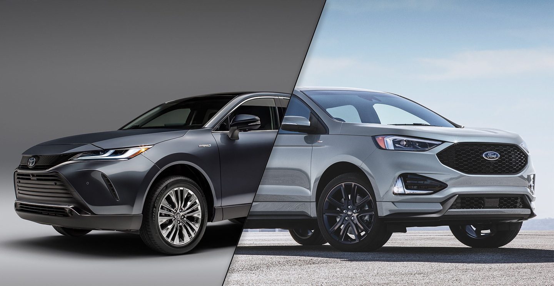 2021 Toyota Venza Vs 2020 Ford Edge Spec Comparison - Motor