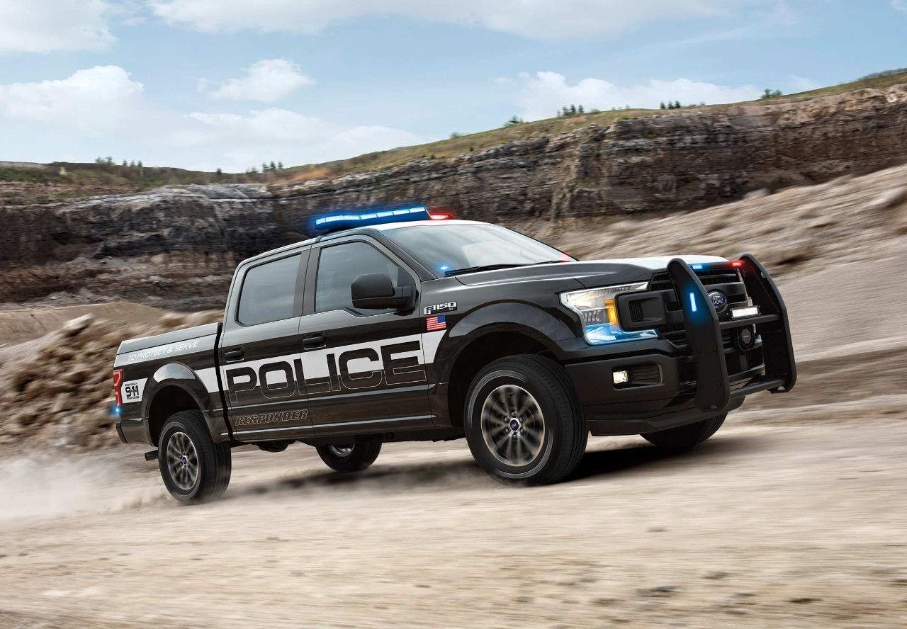 Actualité Auto : Un Ford F-150 Préparé Pour La Police (All