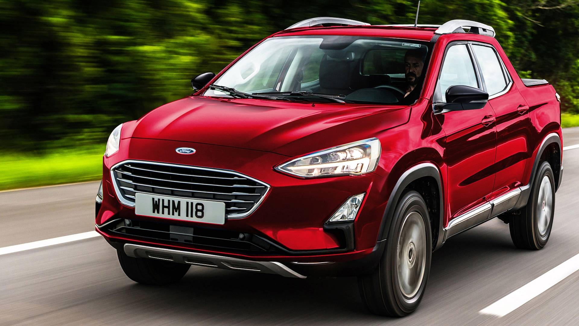 Ford Devrait Bien Lancer Un Pick-Up Plus Petit Que Le Ranger