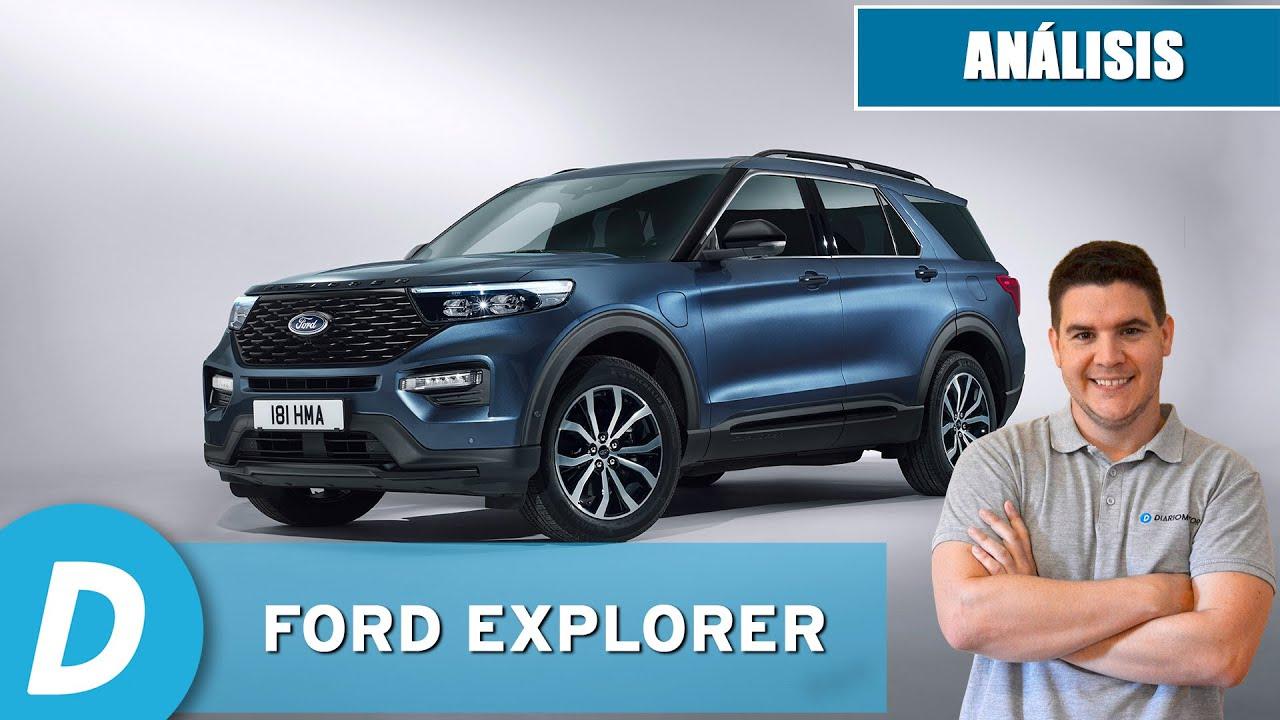 Ford Explorer 2021: ¿el Chollo Entre Los Grandes Suv? | Análisis |  Diariomotor