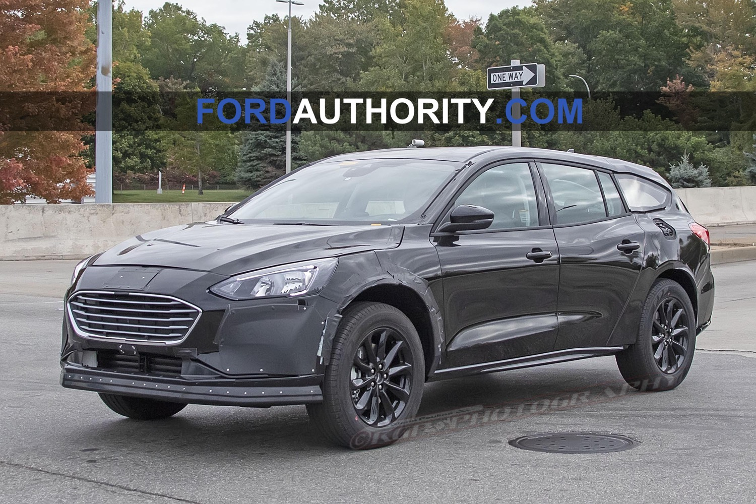 Ford Fusion Replacement Spied As Tall-Riding Wagon - Ford