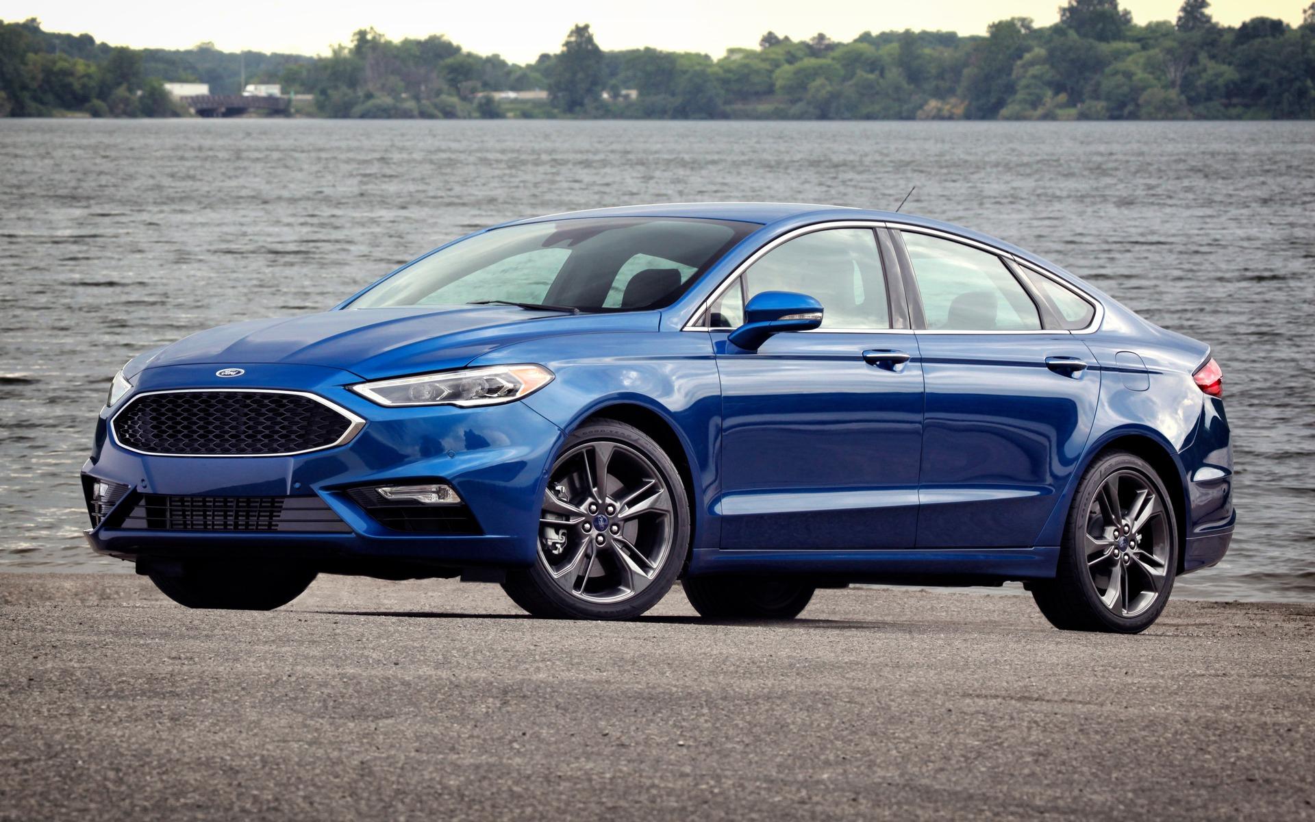 Ford Fusion Sport 2018 : Plaisir De Conduire À L'avant Plan