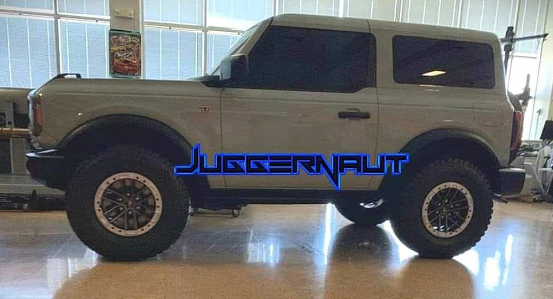 Full Size 2021 Ford Bronco Exposed Again With New Leaked