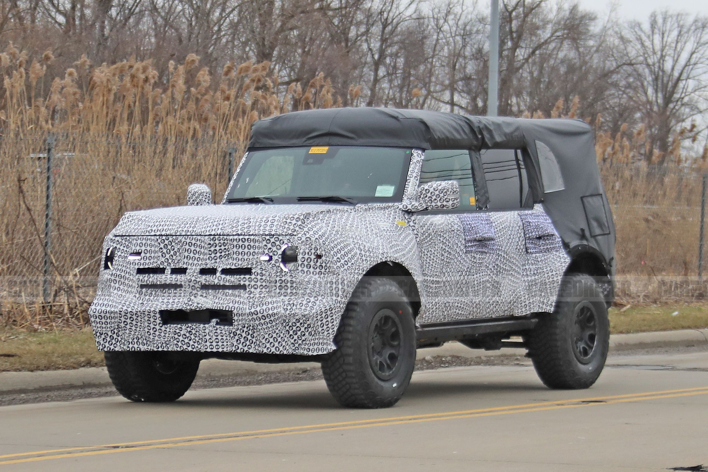 New 2021 Ford Bronco Photos Show Off-Road Kit