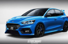New Ford Focus Rs With Electric Rear Axle Could Have Over 400 Hp