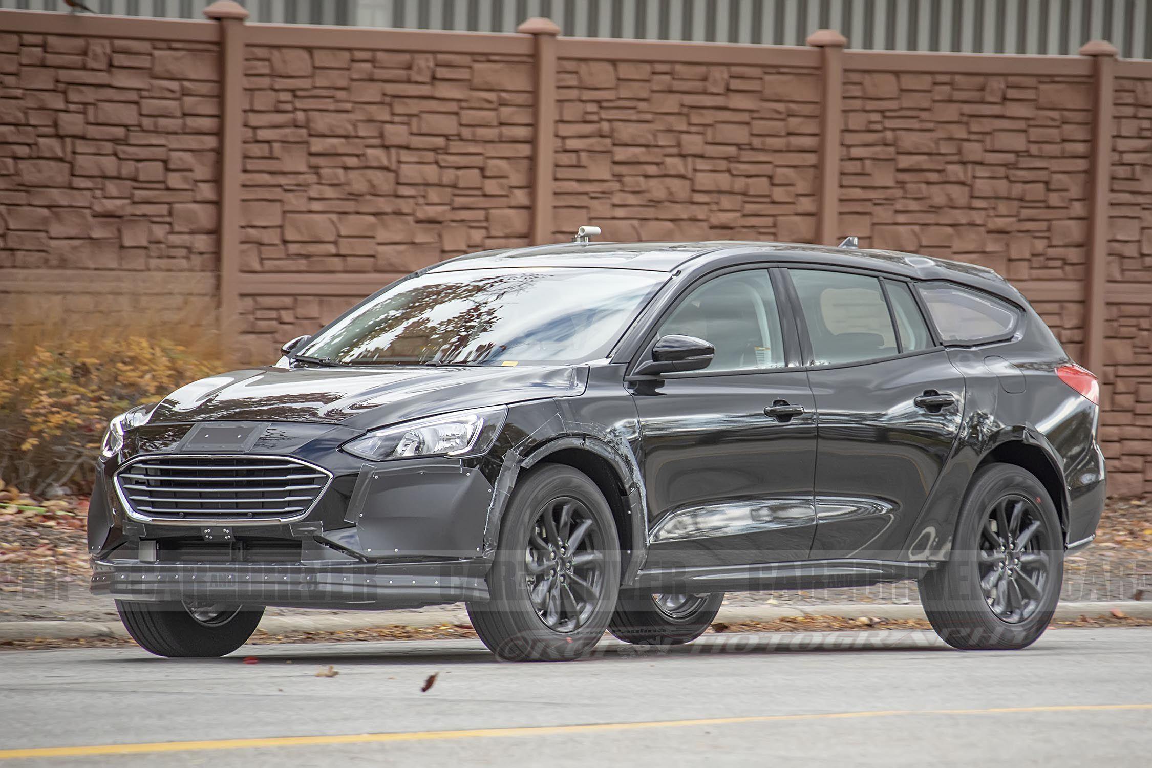 Next Ford Fusion Takes Shape As A Subaru Outback–Style