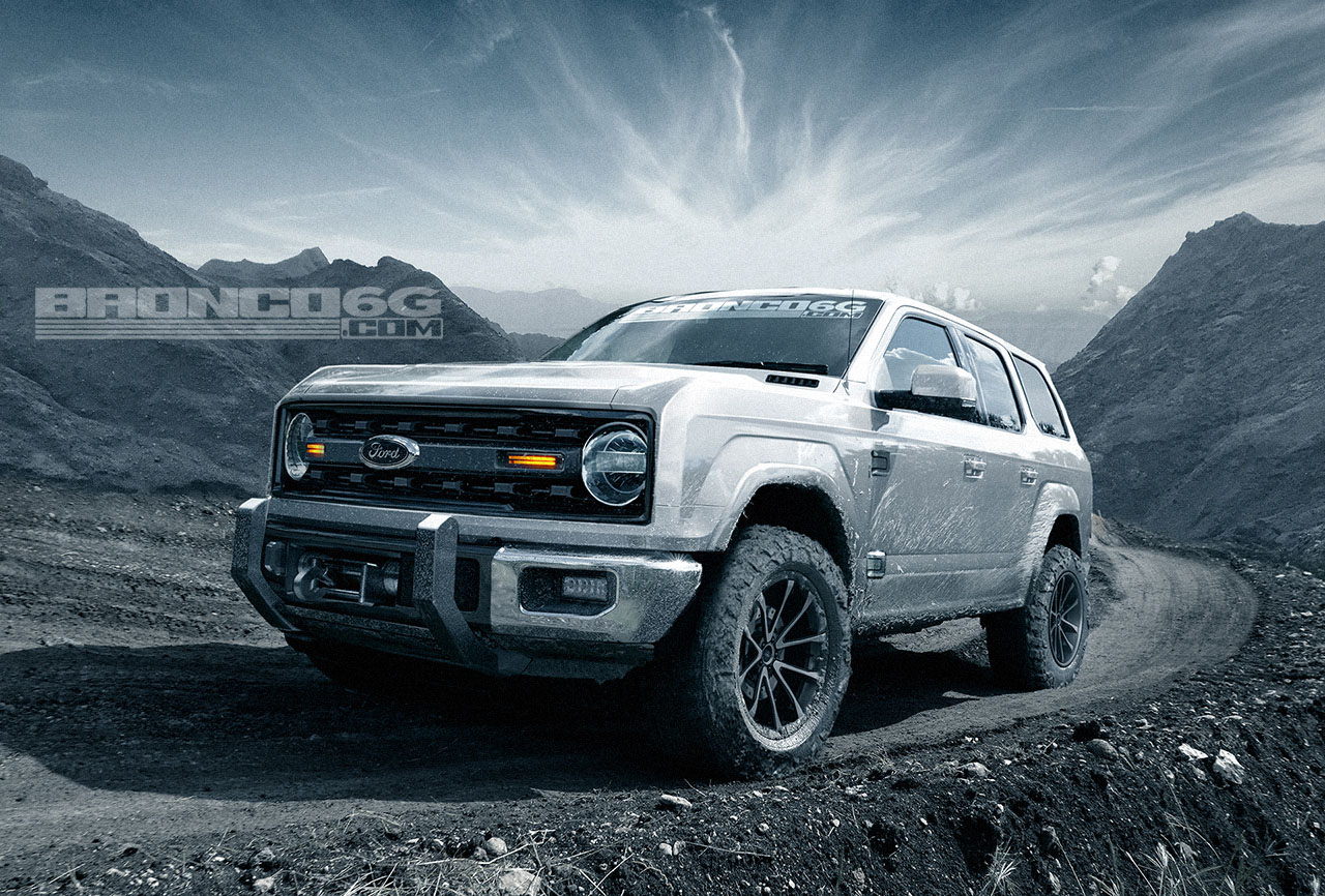 The 2021 Ford Bronco Will Have A Seven-Speed Manual