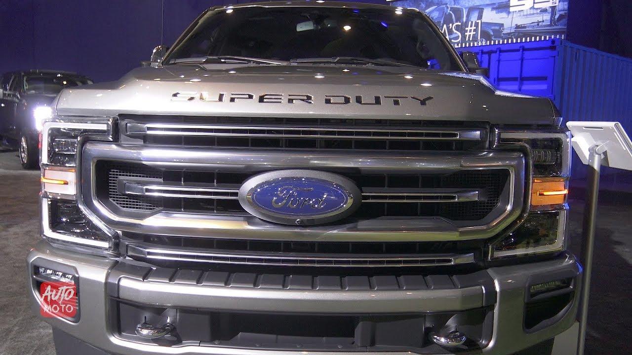 2020 Ford F-350 Platinum Super Duty - Exterior And Interior Walkaround -  2019 Toronto Auto Show
