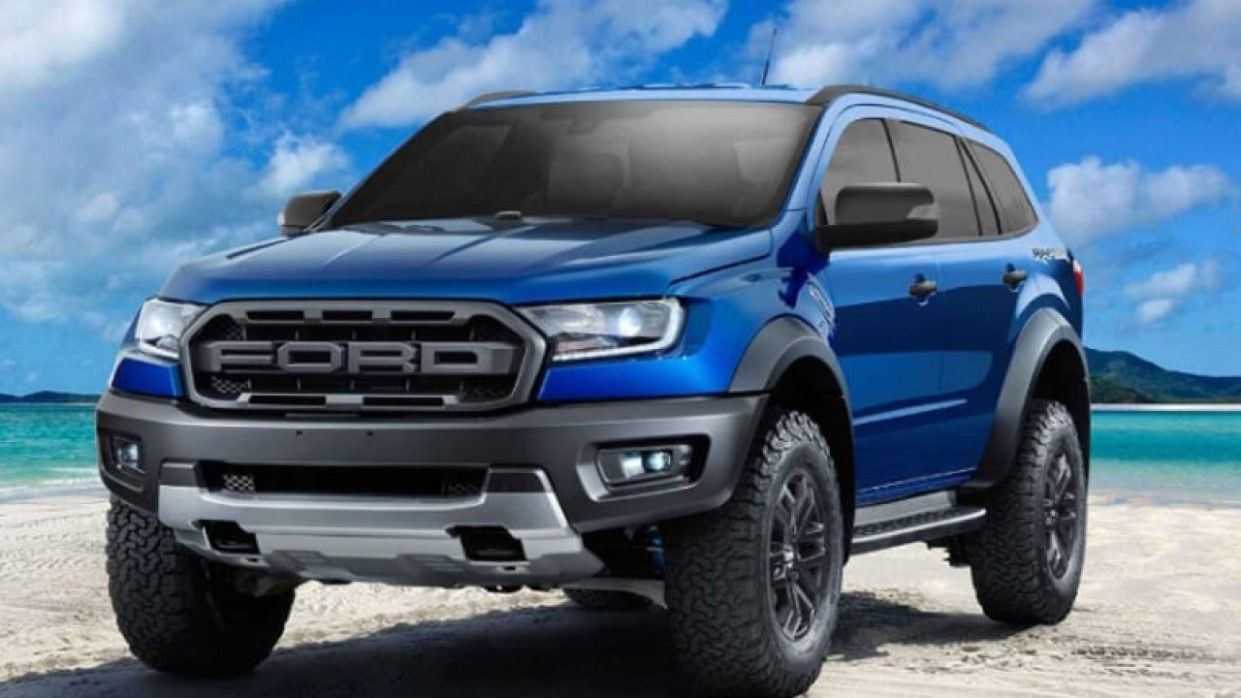 2021 Ford Everest New In 2020 | Ford Suv, Ford Ranger Raptor