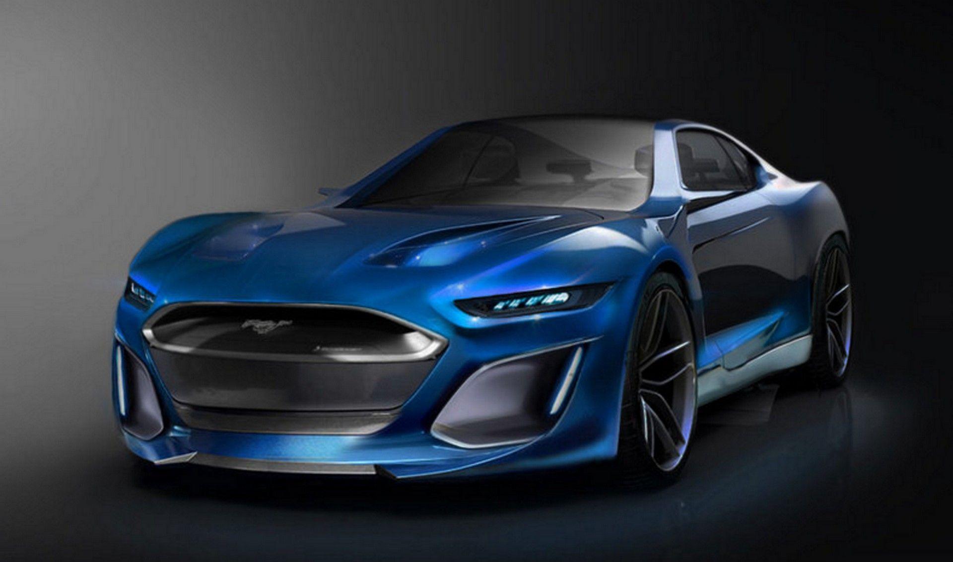 2021 Ford Mustang Concept | Ford Mustang, Ford Mustang Gt