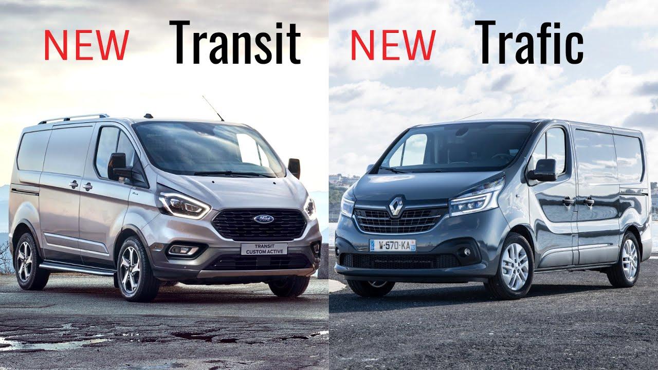 2021 Ford Transit Vs 2020 Renault Trafic