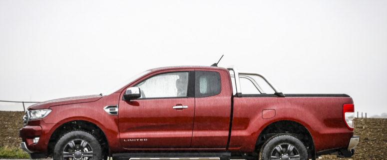 Fiche Technique Ford Ranger Super Cab 2.0 Ecoblue 170 Ch