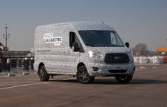 Ford Is Bringing A New All-Electric Transit Van To America