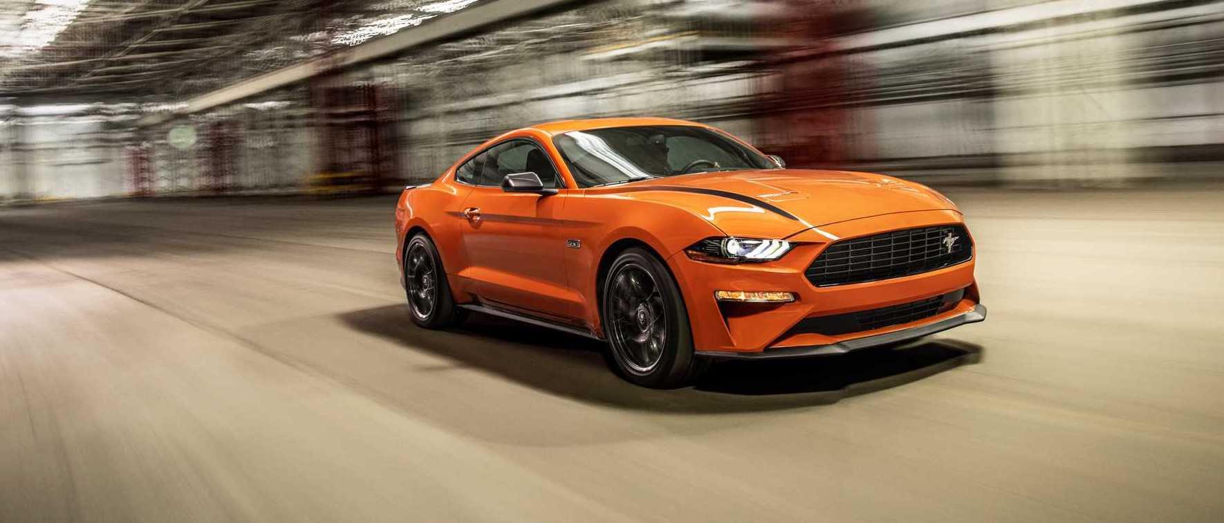 Ford Mustang : 330 Chevaux Avec La Nouvelle Version High
