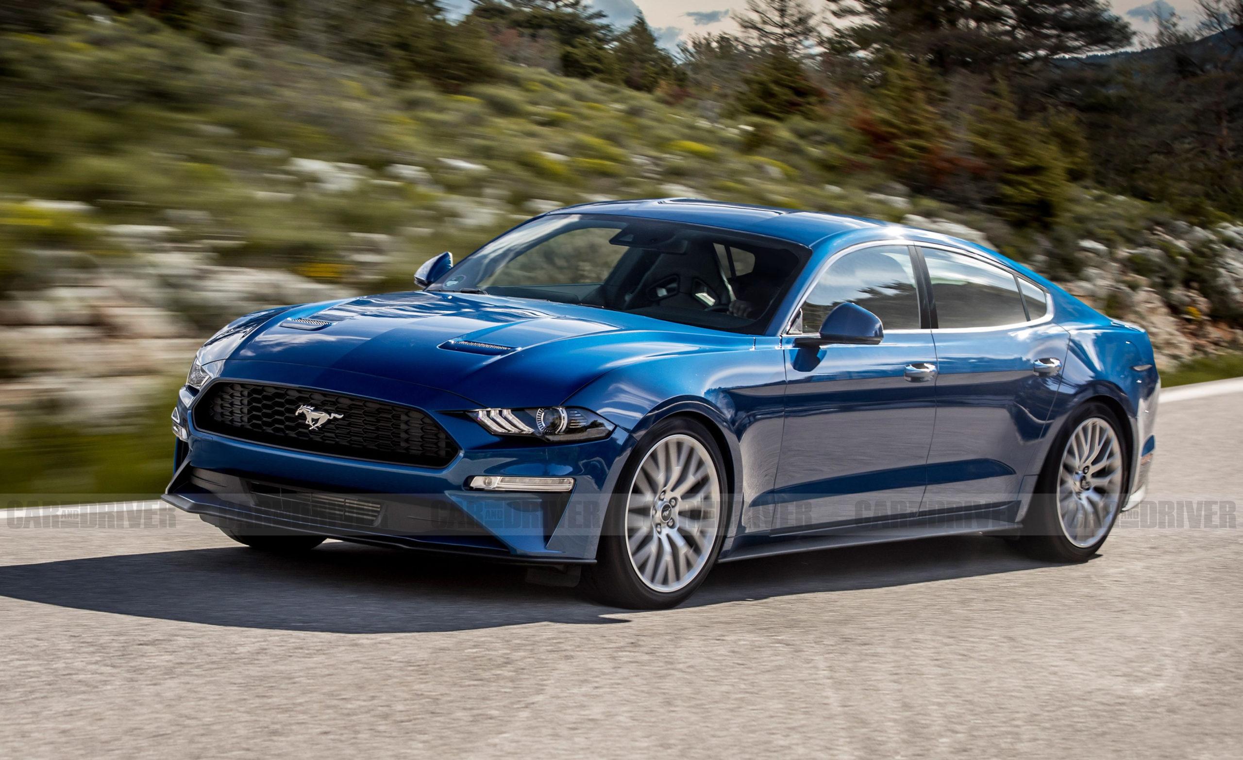 Ford Mustang Four-Door – Rumors Of A New Pony-Car Sedan