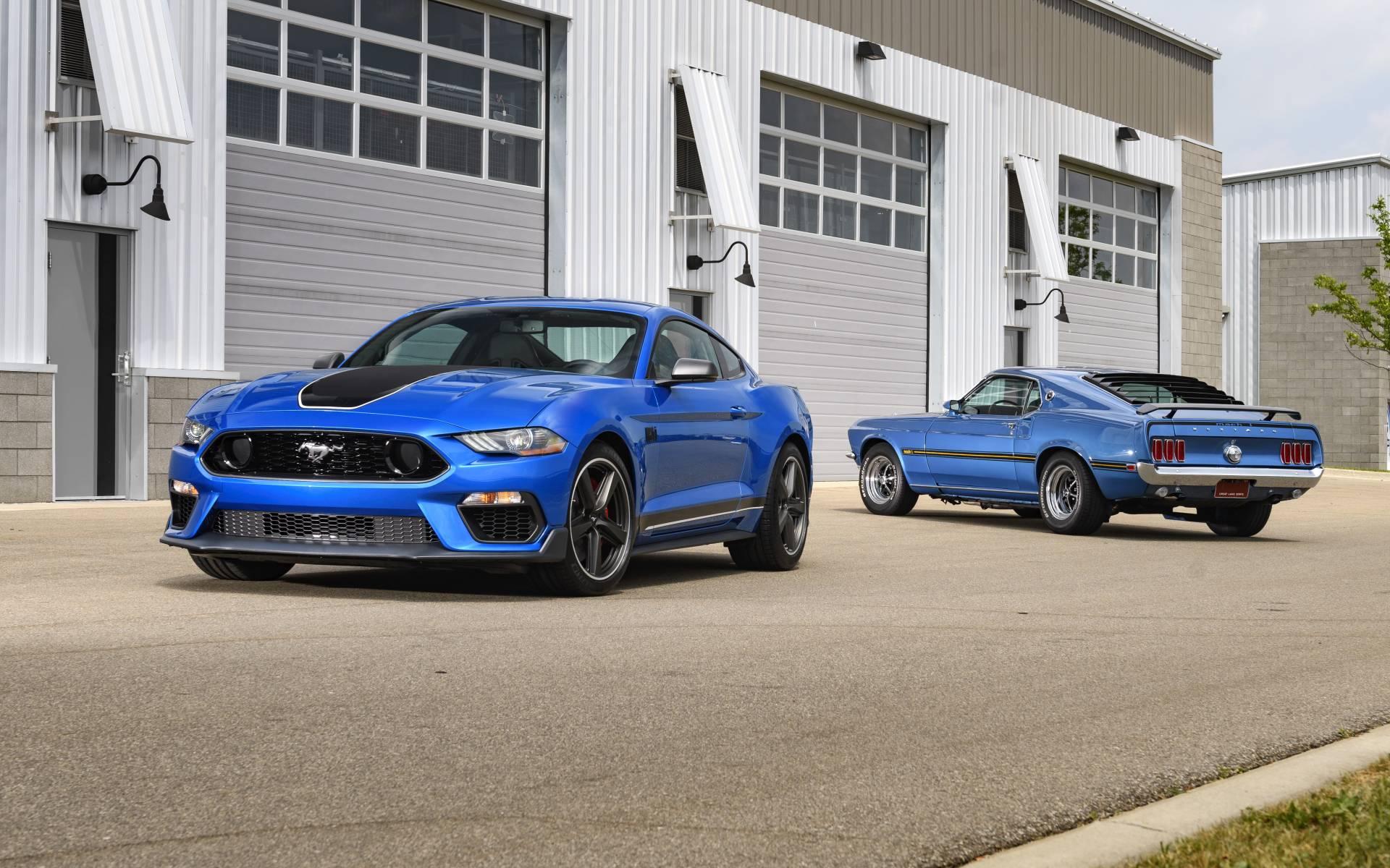 Ford Mustang Mach 1 2021 : Un Nom Légendaire Renait - Guide Auto