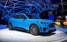 Ford Mustang Mach-E 2021 Voici Les Premières Statistiques
