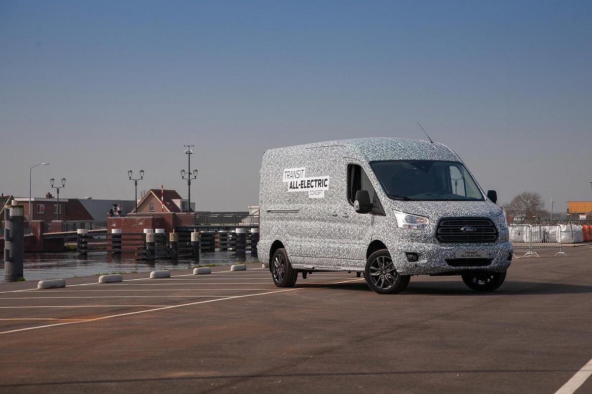 Ford Sortira Une Version Électrique De L'utilitaire Transit