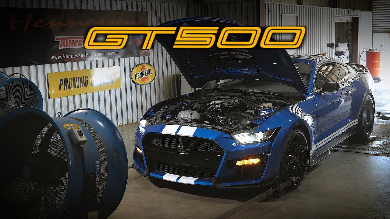 Hennessey Teste La Mustang Shelby Gt500 2020 - 421Chevaux