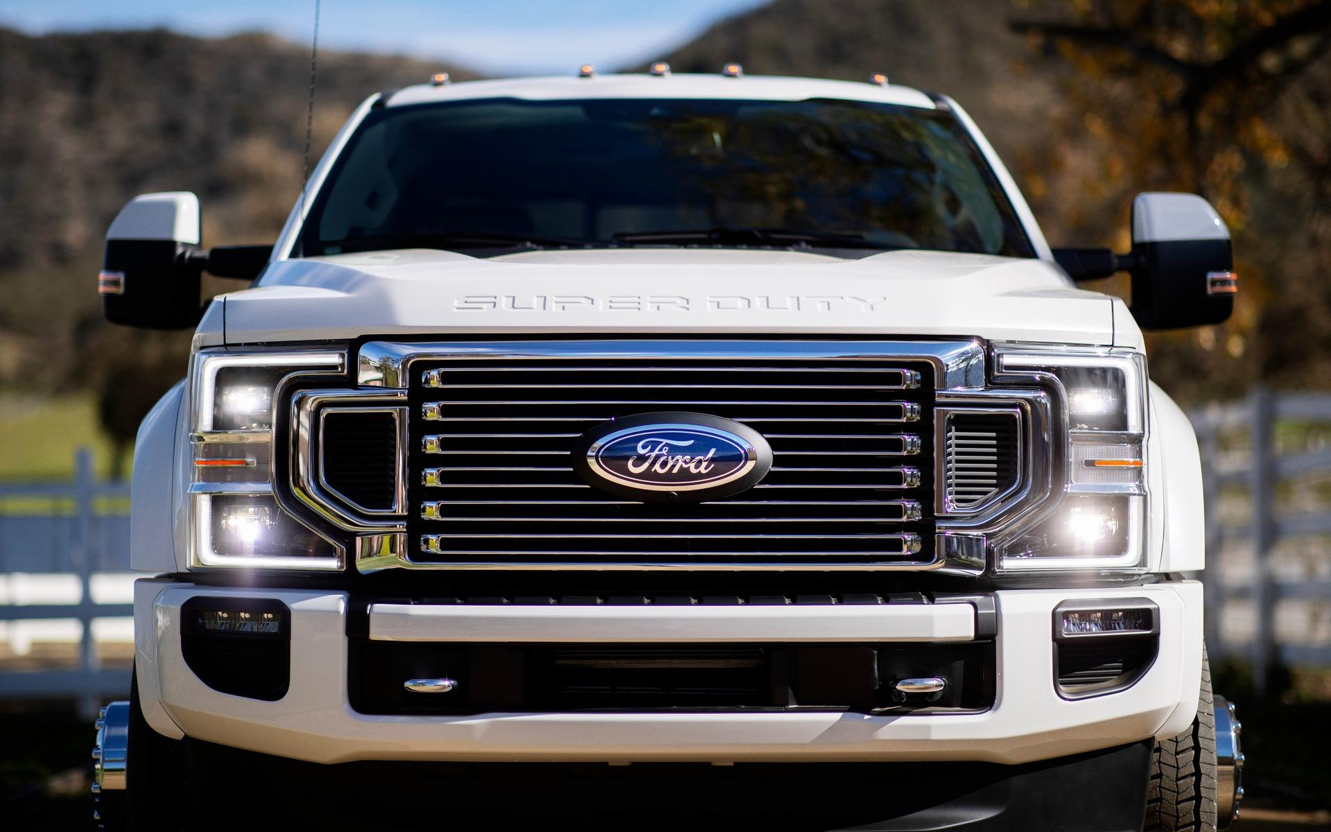 Le Ford Super Duty 2020 Promet D'être Encore Plus Puissant
