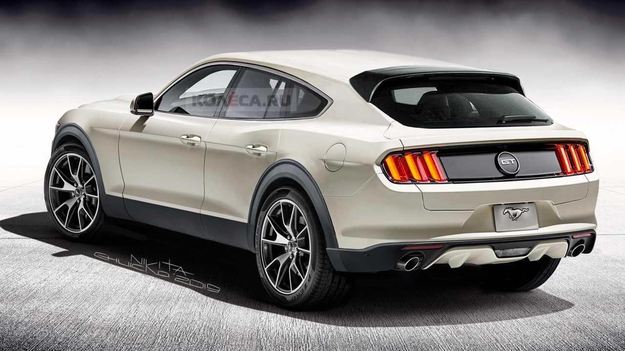 Le Futur Suv Électrique Inspiré De La Ford Mustang En