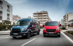 Le Plein De Nouveautés Pour Les Ford Transit Et Tourneo