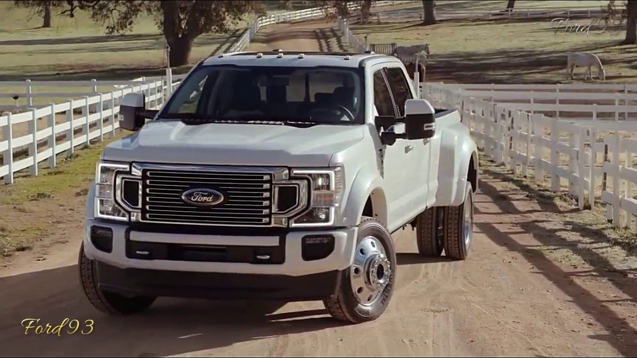 New 2020-2021 Ford F-350 Platinum Super Duty New Concept