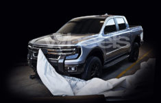 Plug-In Hybrid 2022 Ford Ranger Pickup Truck Apparently In