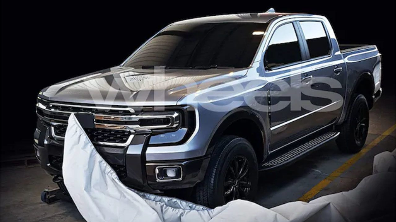 Suspected 2021 Ford Ranger Spotted On The Street | Ford