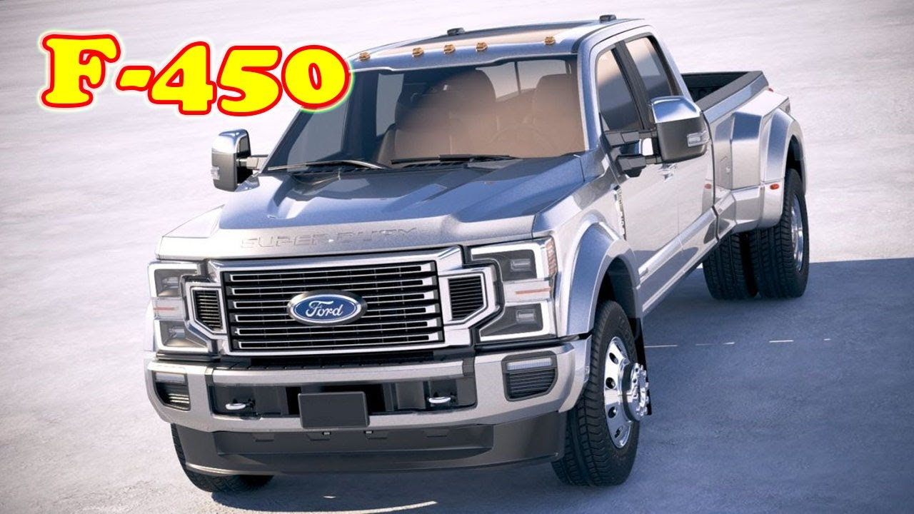 2021 Ford F 450 Limited | 2021 Ford F 450 King Ranch | 2021 Ford F 450  Platinum | What's New?