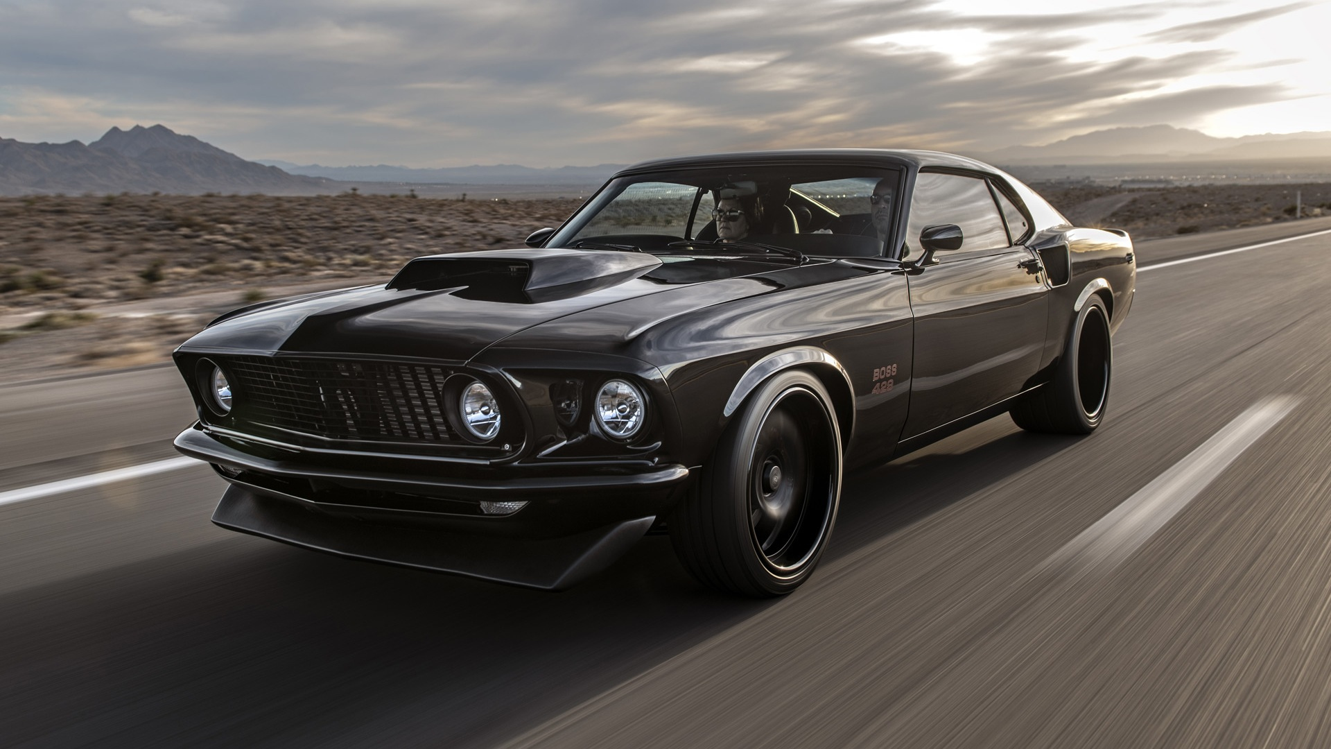 Classic Recreations' First Mustang Boss 429 Makes Debut