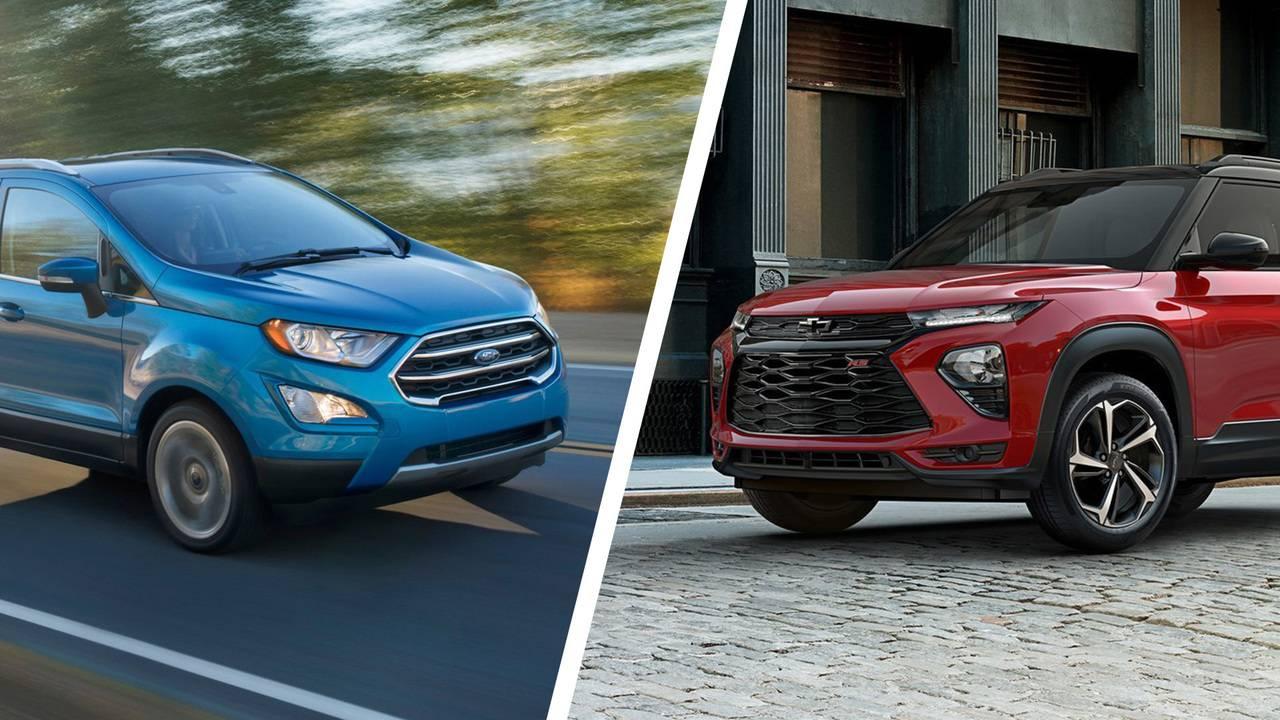 Ford Ecosport 2020 Et Chevrolet Trailblazer 2021 : Comparons