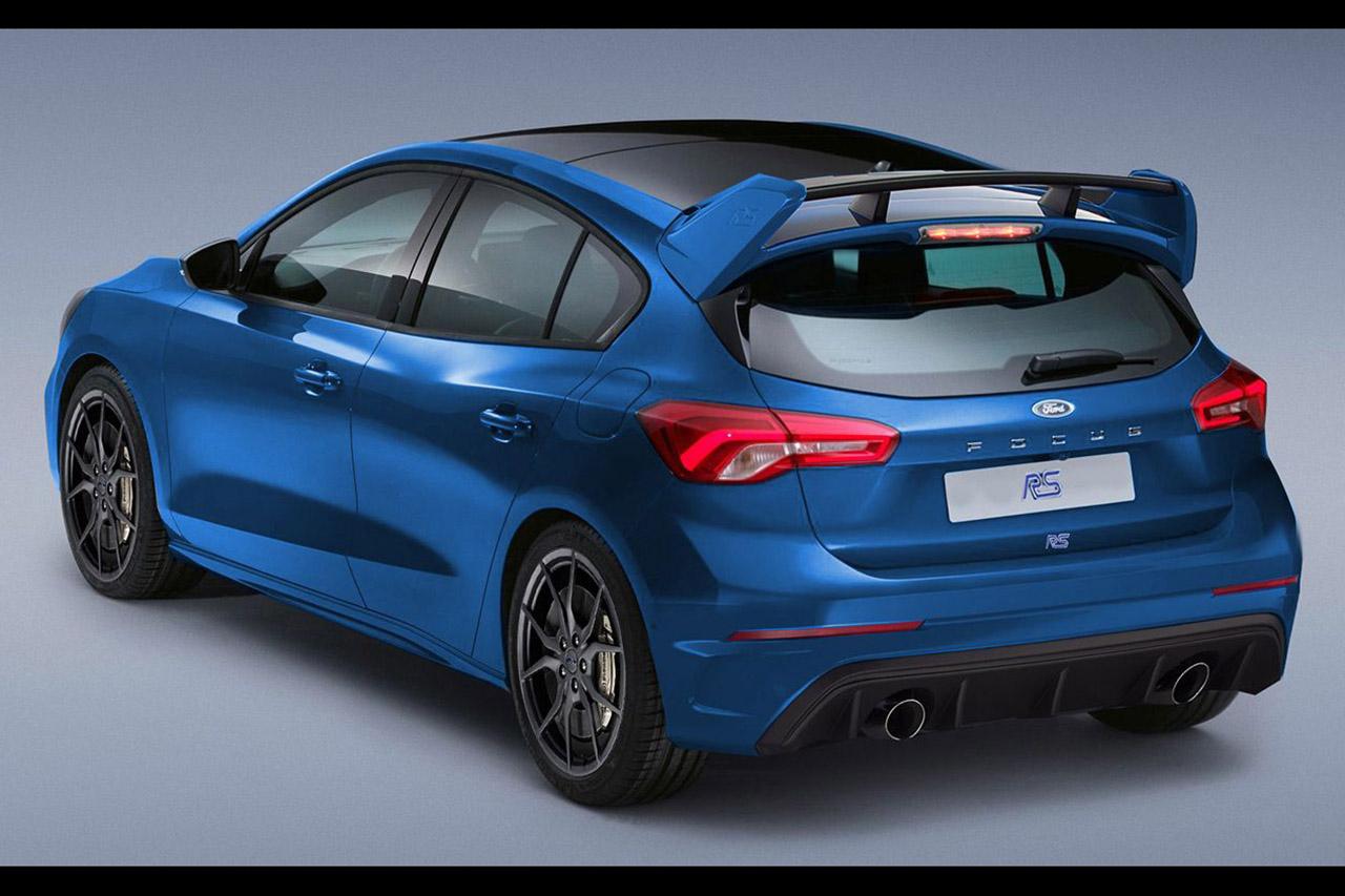 Ford Focus 4 Rs : 400 Ch Pour La Future Version Rs