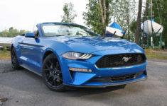 Ford Mustang Ecoboost Premium Décapotable 2019 : Essai